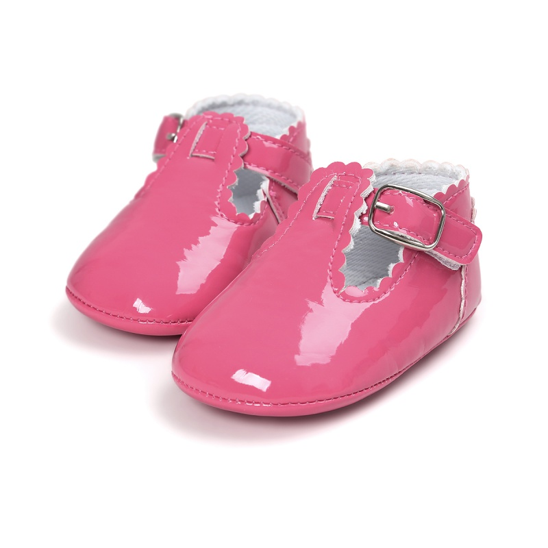 Toddler Baby Girl  Shoes Crib Shoes Smooth Soft Sole Anti-Slip  Prewalker Sneakers For Baby Girls 0-18M 2018