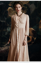 سيدة رداء رومانسية ملابس خاصة فستان سهرة امرأة رداء دعوى الفاخرة مثير ثوب النوم فستان طويل أنيقة رداء العروس روب للنوم