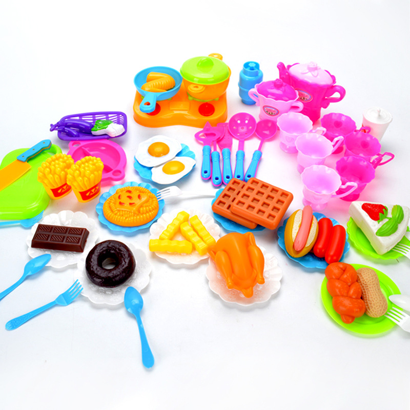 Children's Play House Kitchen Toys, Boys And Girls Cooking, Cooking, Kitchen Utensils, Tea Sets, Children's Toys, Suits