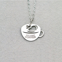 купить 2018 Trendy Friend Coffee Cup Charm Coffee Lover Gift Personalized Names Or Letters Drop Shipping Accepted YP6353 дешево