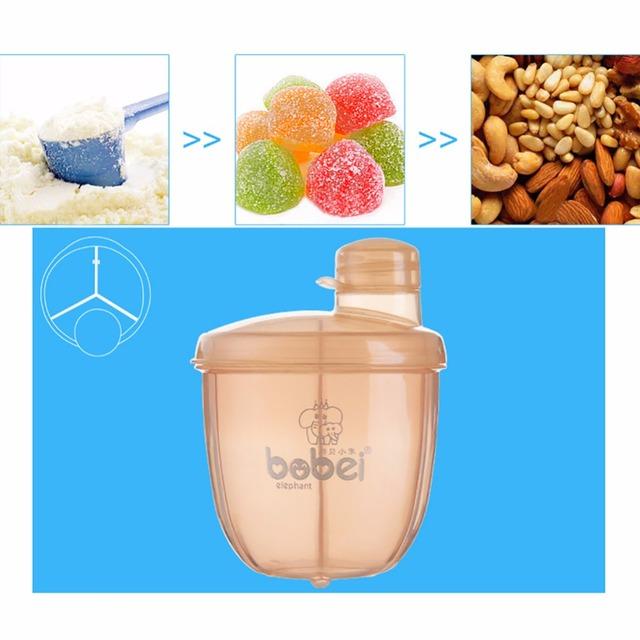 Bobei Formula Milk Powder/Snack Dispenser