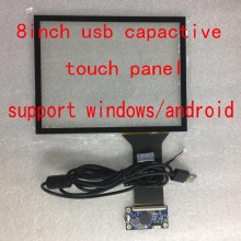 8inch 4:3 usb capacitive touch panel/screen for HJ080IA-01E/EJ080NA-04C/N080XCG-L21/HJ080IA-01B/CLAA080XA03BT and more same size