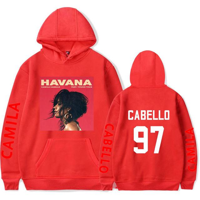 NEVER BE THE SAME TOUR CAMILA CABELLO HOODIE