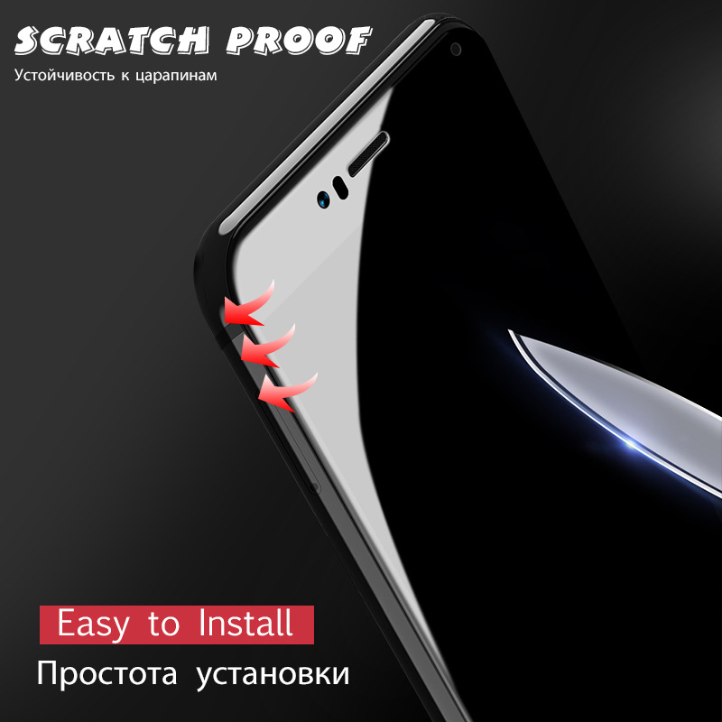 Image 2 - Full Cover Tempered Glass For Xiaomi Redmi 7 7A 6 6A K20 Pro 5 Plus Redmi Note 5 5A 6 7 pro Protective Screen Protector Film-in Phone Screen Protectors from Cellphones & Telecommunications