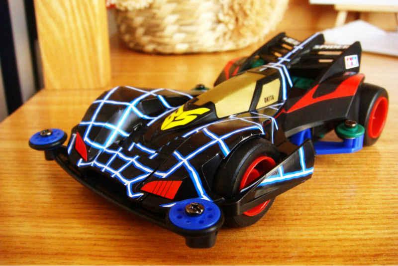 4WD MINI pico araña montaje eléctrico modelo de coche buggies Raider Kits 4WD Carreras de Coches Juguetes Educativos Regalos de Los Niños