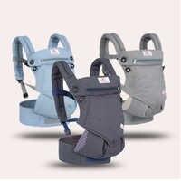 Эргономичные 360 переносные рюкзаки для детей 3-36 месяцев, переносные детские слинг, обертывание, хлопок, новорожденный, ремень для переноски ...