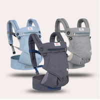 Ergonomic 360 Baby Carriers Backpacks 3 36 months Portable Baby Sling Wrap Cotton Infant Newborn Baby Carrying Belt for Mom Dad