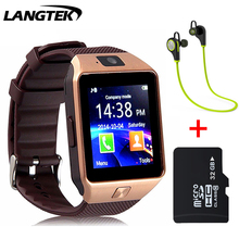 LANGTEK Smart Watch DZ10 for Apple android phone support SIM card reloj inteligente smartwatch pk gt08