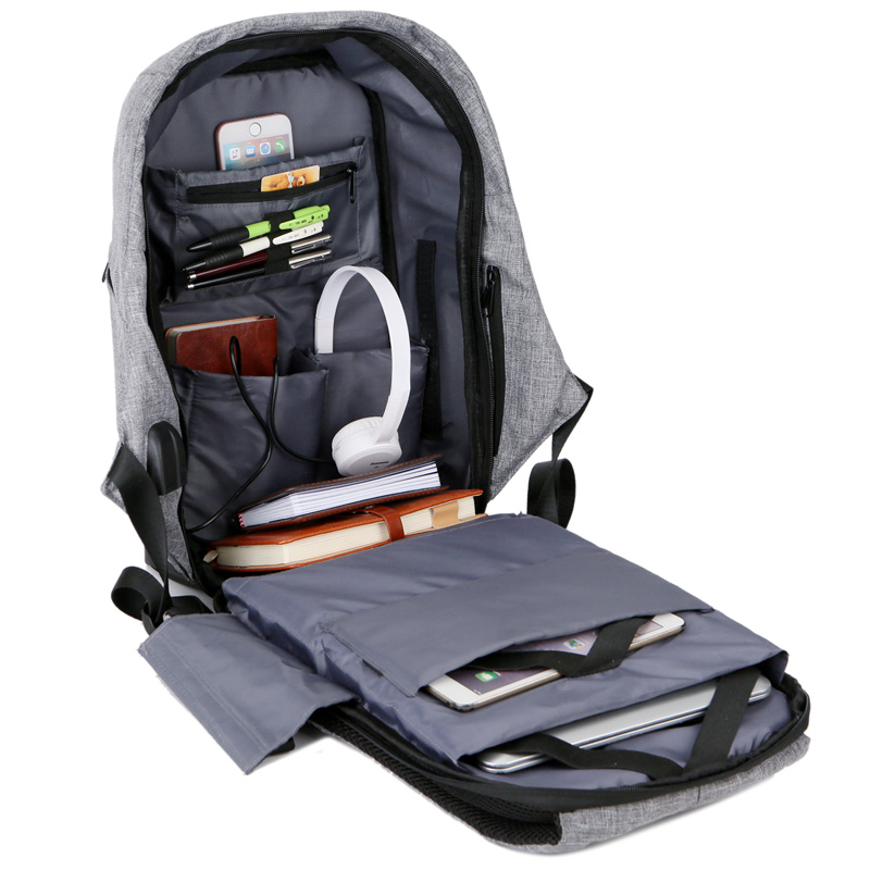 Multifunction Anti theft USB charging Men 15inch Laptop Backpacks For Teenager Male Theftproof Leisure Travel backpack Mochila цена