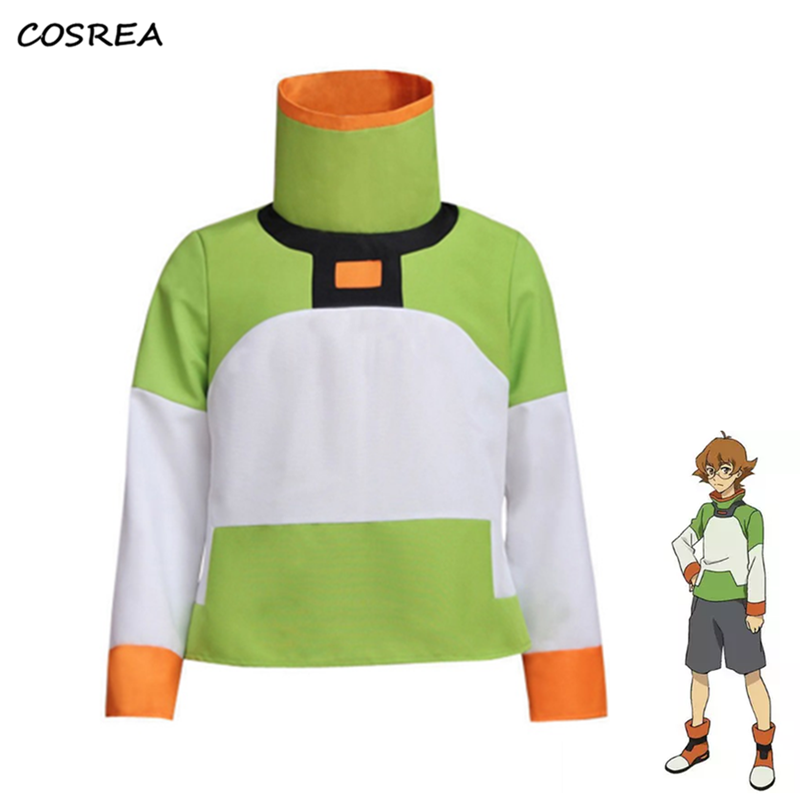 Cosplay Costumes Voltron Legendary Defender Pidge Shirt Jacket Halloween Props Accessories Top Coat Outfit for Adult Woman Man