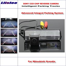 Liislee Backup Reverse Rear Camera For Mitsubishi Grandis / Space Wagon / HD 860 Pixels 580 TV Lines Intelligent Parking Tracks