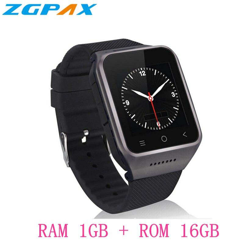 ZGPAX S8 pro Smart Watch MTK6580 Android 5.1 Quad Core 1GB + 16GB GPS WiFi Bluetooth 4.0 SmartWatch Phone PK KW18 KW06 X01S X86