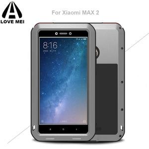 Мощный металлический чехол Xiomi Mi Max 2, роскошный алюминиевый грязевой водонепроницаемый ударопрочный чехол для Xiaomi Max 2 MiMax2
