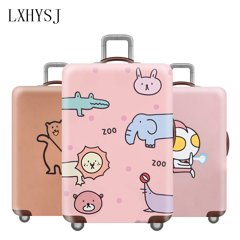 New Thicken Luggage Cover Elasticity Luggage Protective Covers For 18-32 Inch Suitcase Dust Cover Travel Accessories