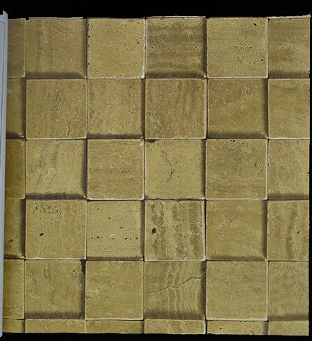 3D Stone Wall  Vintage WallPapers Dark Gray Yellow Brick  Wallpaper футболка oakley spirit tee stone gray
