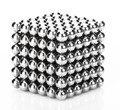 Nuevo 216 unids 3mm de neodimio bolas magnéticas esferas bolas cubo mágico neo imanes rompecabezas regalo de cumpleaños para niños de educación cubo
