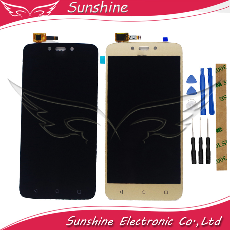 Good Quality LCD Display For Motorola Moto C Plus CPlus XT1721 XT1722 <font><b>XT1723</b></font> XT1724 LCD Display Screen Front Glass Digitizer image