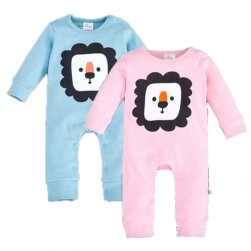 New Born Baby Rompers Casual Cotton Baby Boy Clothes Infant Long Sleeve Jumpsuit for Newborns Spring Autumn Baby Clothing CPF002 infant baby girl rompers jumpsuit long sleeve for newborns baby boy brand clothing bebe boy clothes body romper baby overalls