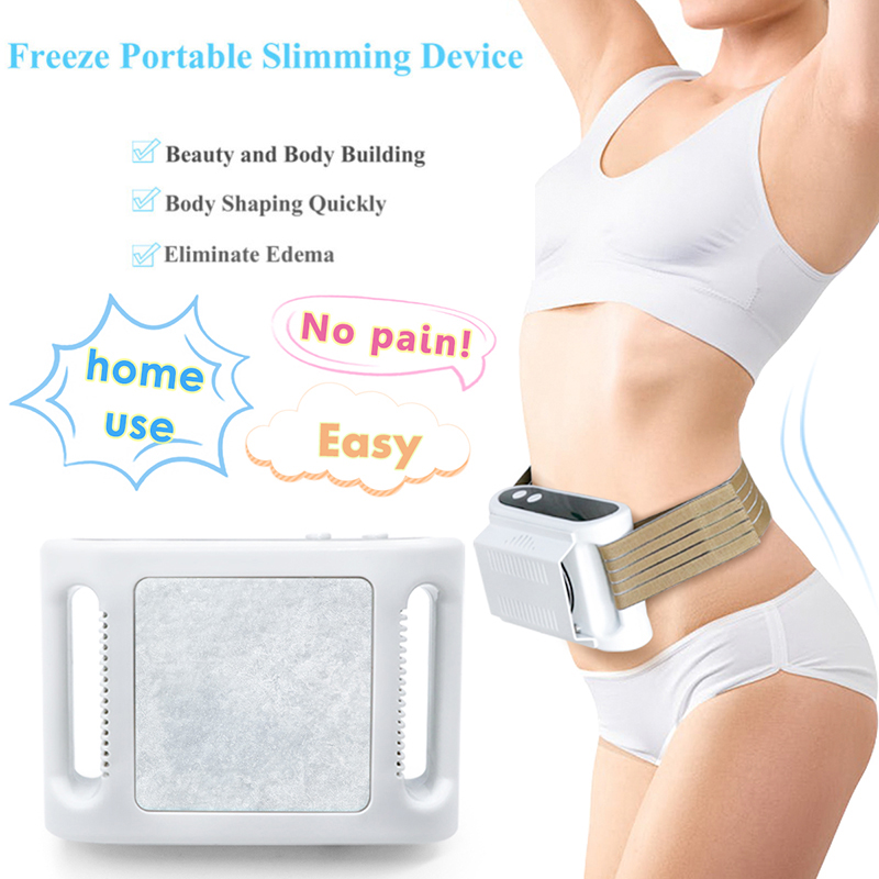 US $118 3 9% OFF|Home Use Fat Freezing Machine Fat Freeze Body Slimming  Weight Loss Dissolve Fat Cold Therapy Anti Cellulite Massager-in Face Skin