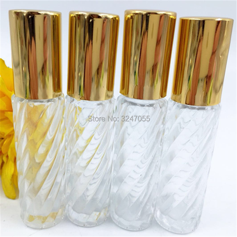 все цены на 10/30/50pcs 10ML Transparent Glass Roll on Essential Oil Bottle, Empty Clear Perfume Refillable Bottle, Roll on Glass Scent Tube