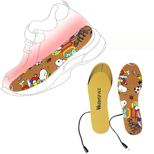 EU/US Plug USB Electric Heating Insoles Shoes Boots Pad Winter Feet Warmer semelle chaussure shoe heating insole recharge New