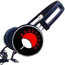 Logotipo personalizado Anime Ichizoku Clã Uchiha Itachi Naruto Cosplay Esporte Fone De Ouvido Gamer Fone De Ouvido Estéreo Fone De Ouvido Fone De Ouvido Ajustável