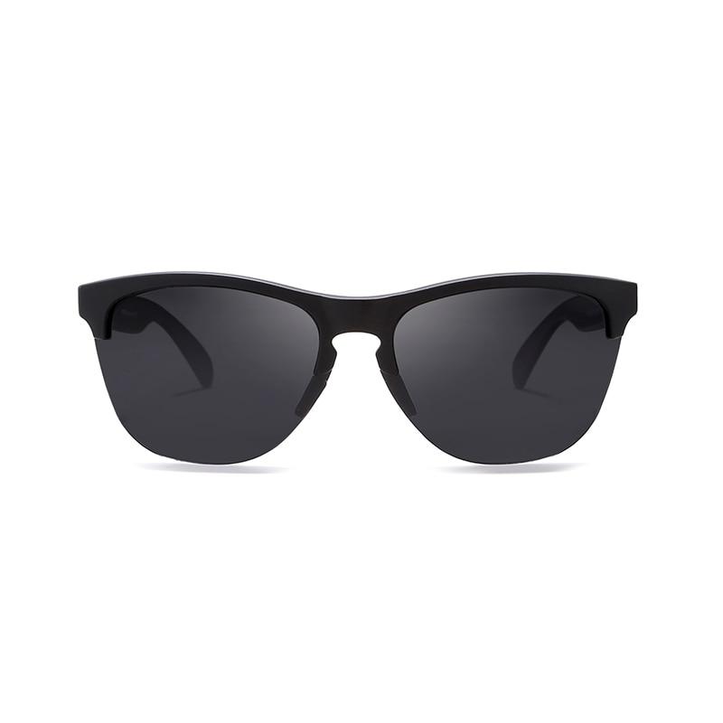 Image 3 - KDEAM Happy TR90 Polarized Sunglasses Life Sport Men Sun Glasses Anti Glare Elastic Frame Outdoor Goggles With Box-in Men's Sunglasses from Apparel Accessories