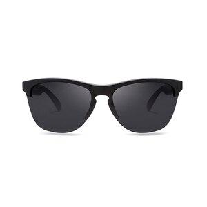 Image 3 - Мужские поляризационные очки KDEAM, спортивные антибликовые солнцезащитные очки в эластичной оправе, уличные очки с чехлом, Happy TR90