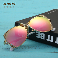 2017 AORON Brand Women's Polarized Sunglasses Luxury Design Leisure Goggles for Female Fashion Eyewear