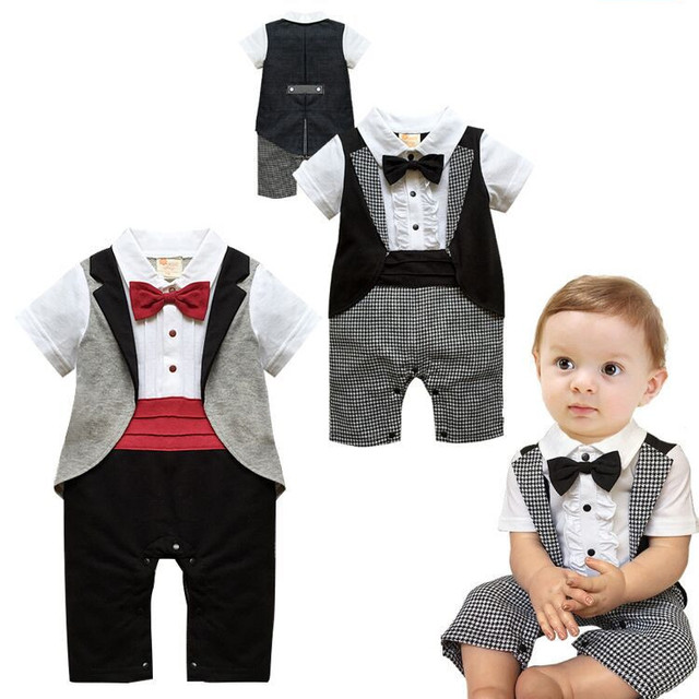 summer boys birthday party suits infant boys wedding suit gentleman ...