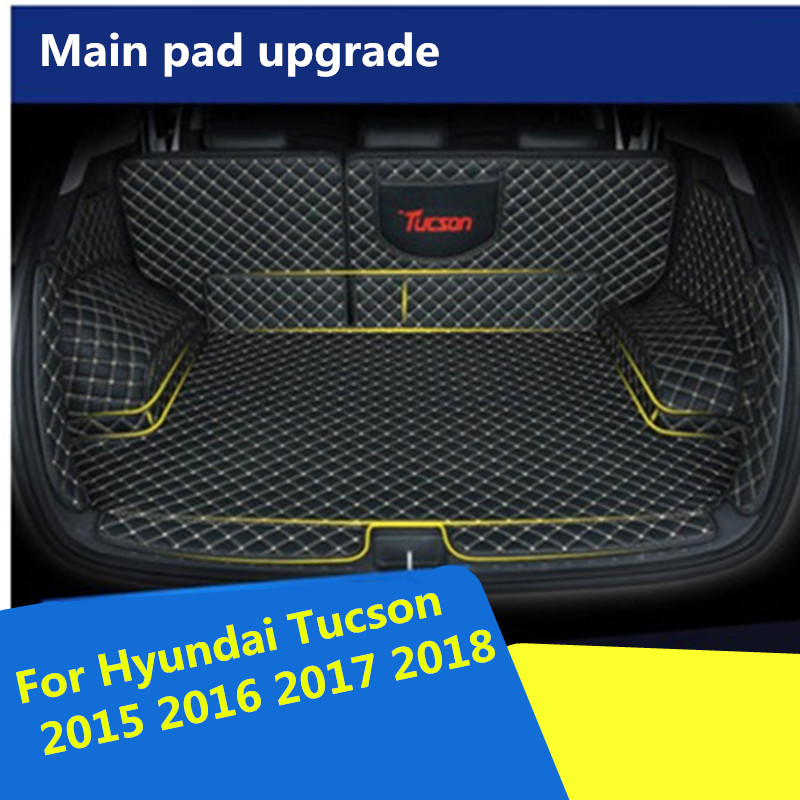 2018 Hyundai Tucson Interior: Car Trunk Mat For Hyundai Tucson 2015 2016 2017 2018 Cargo
