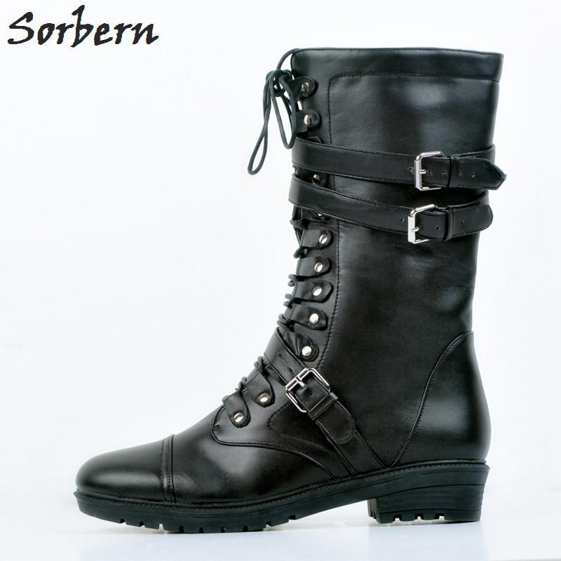Damen Femme Plus Für Frauen Outdoor Chaussures Schwarzes Mujer Größe Schwarze Botte Up Botines Lace Stiefel Knöchel Heißer 7RSEqwwPx