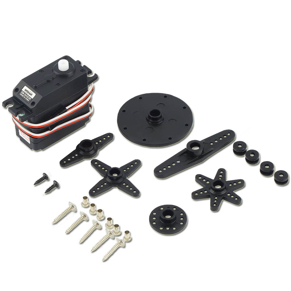 1pcs Original SpringRC SM-S4303R Large Continuous Rotation 360 Degree Plastic Micro Servo Motor for Robot levett caesar prostate massager for 360 degree rotation g spot