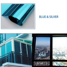 One Way Mirror Window Film insulation UV Reflective privacy protection Solar SelfAdhesive Decorative 30/40/50/60*600cm