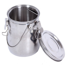 High quality stainless steel with cover painting wash pen barrel cleaning paintbrush for pot barrel rinse Device oilcan