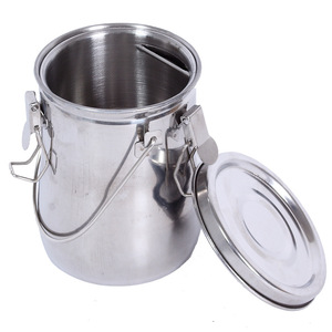 Image 1 - High quality stainless steel with cover painting wash pen barrel cleaning paintbrush for pot barrel rinse Device oilcan
