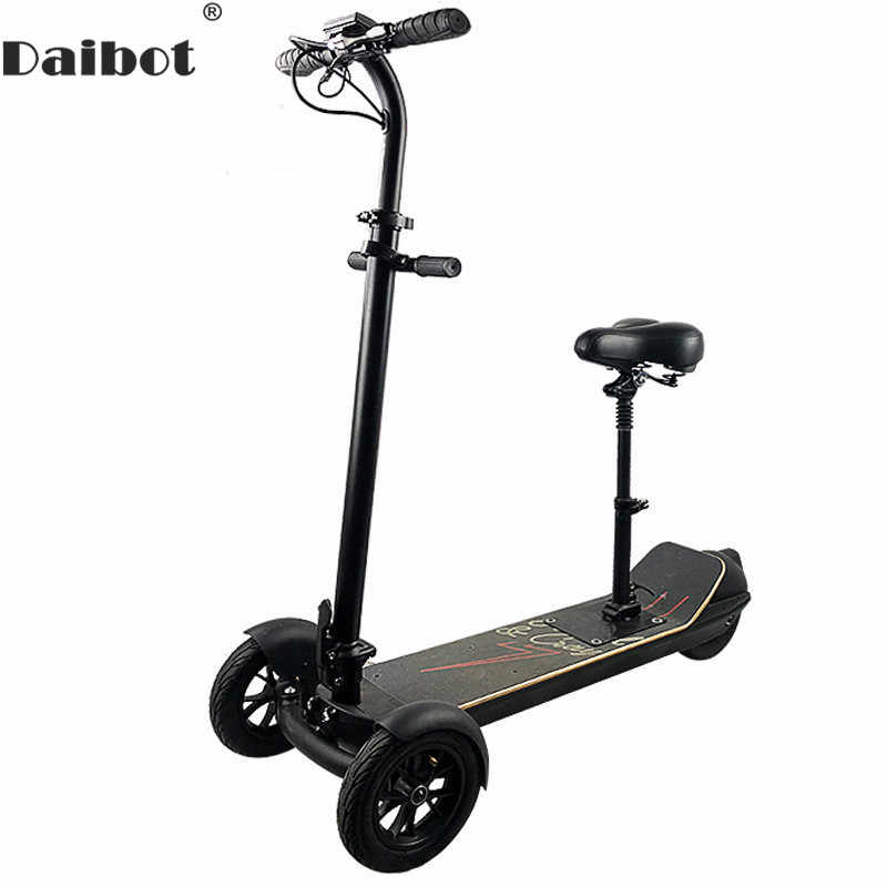 Kick Scooter Electric 3 Wheels Electric Scooters 8.5 Inch 450W 48V Adult Electric Tricycle Scooter With Seat