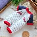 Envío libre Al Por Menor nuevo 2017 bebé ropa de verano para niños recién nacidos totales de manga Corta ropa de los mamelucos del bebé del mono