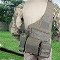 Bolsa de viagem Corpo Cruz Saco Militar MOLLE 1050D Nylon Portátil Ombro Pacote de Combate SWAT Equipamentos Sling Pacote Preto/TAN
