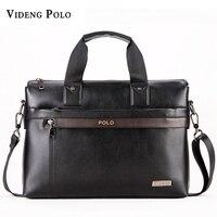 2015 Men Casual Briefcase Business Shoulder Genuine Leather Bag Men Messenger Bags Computer Laptop Handbag Bag