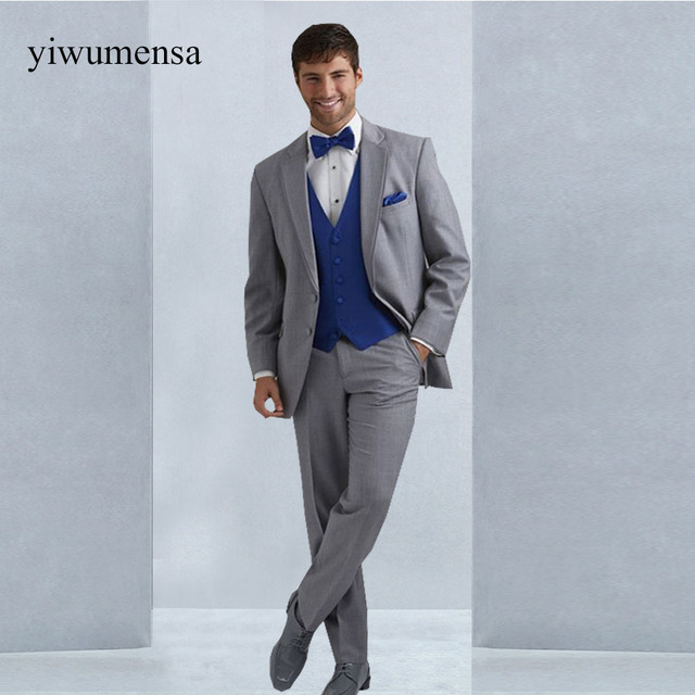 YWMS 394 tuxedo suit men Custom made wedding Party Formal dress ...