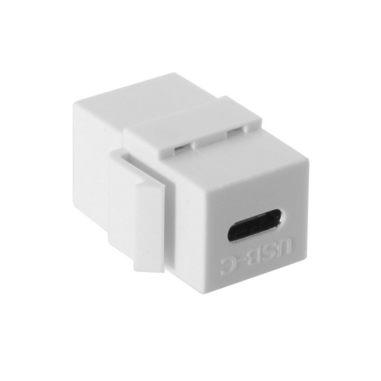 Cable Length: as Description Connectors Wall Plate Plug Standard USB 2.0 Female Coupler Cord Connector USB Female to Female Panel Mount Adapter