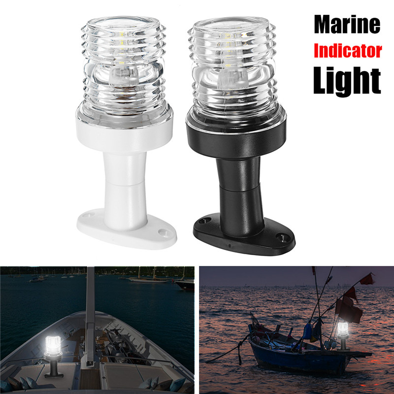 2835 SMD 33 LED Boat Marine Indicator Lights Waterproof For Pontoon Yacht Touring Car Boat Part White/Black 2.5W DC12V