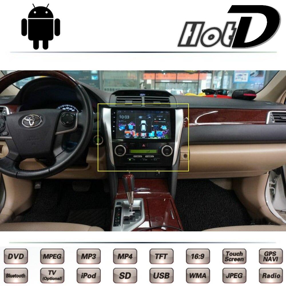 For toyota camry solara gracia altis xv50 2011 12 13 2014 2015 2016 car multimedia dvd