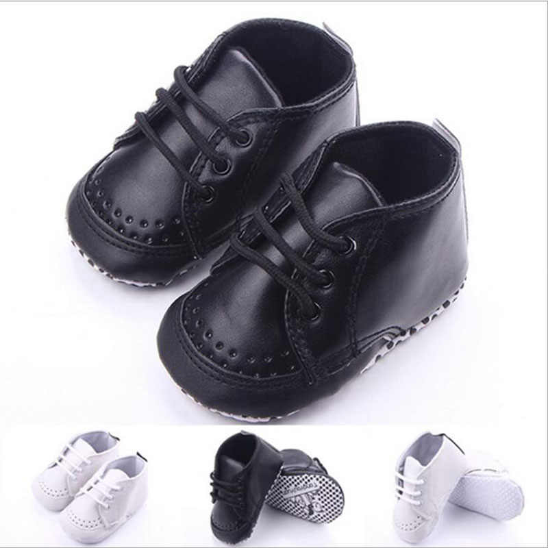 Newborn Baby Shoes Boys First Walker Bebe Infant Sneakers Sport Shoe Toddler Crib Shoe Boots Classical Causal Prewalker