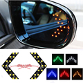 2Pcs LED Arrow Turn Signal Light 5Colors Hiding Style Car LED Side Mirror LED Guide Light Turn Signal Arrows Light