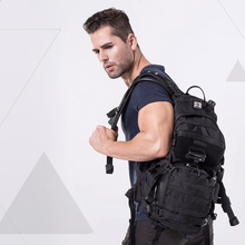 1 adet Nitecore BP20 çok PurposeEvery gün taktik sırt çantası yan 20L giyim 1000D naylon kumaş su geçirmez kaplama araçları çantası