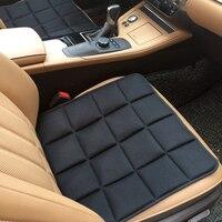 Quatro Estações almofada do assento único Carro Universal Anti-slip Car capa de almofada do assento almofada do assento de Carro de carvão de Bambu Ar purificação