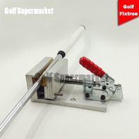 Professional golf club fixture Change grip tool