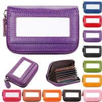 Super Slim Soft 100 Sheepskin Genuine Leather Card Holder Card Case Credit Card Organizer Men Wallets